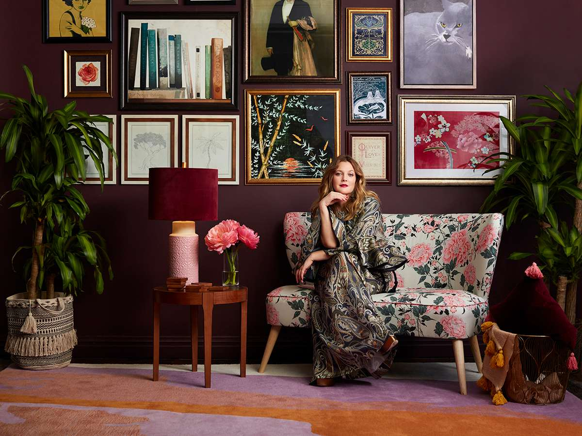 Drew Barrymore Just Launched A Home Collection With Walmart