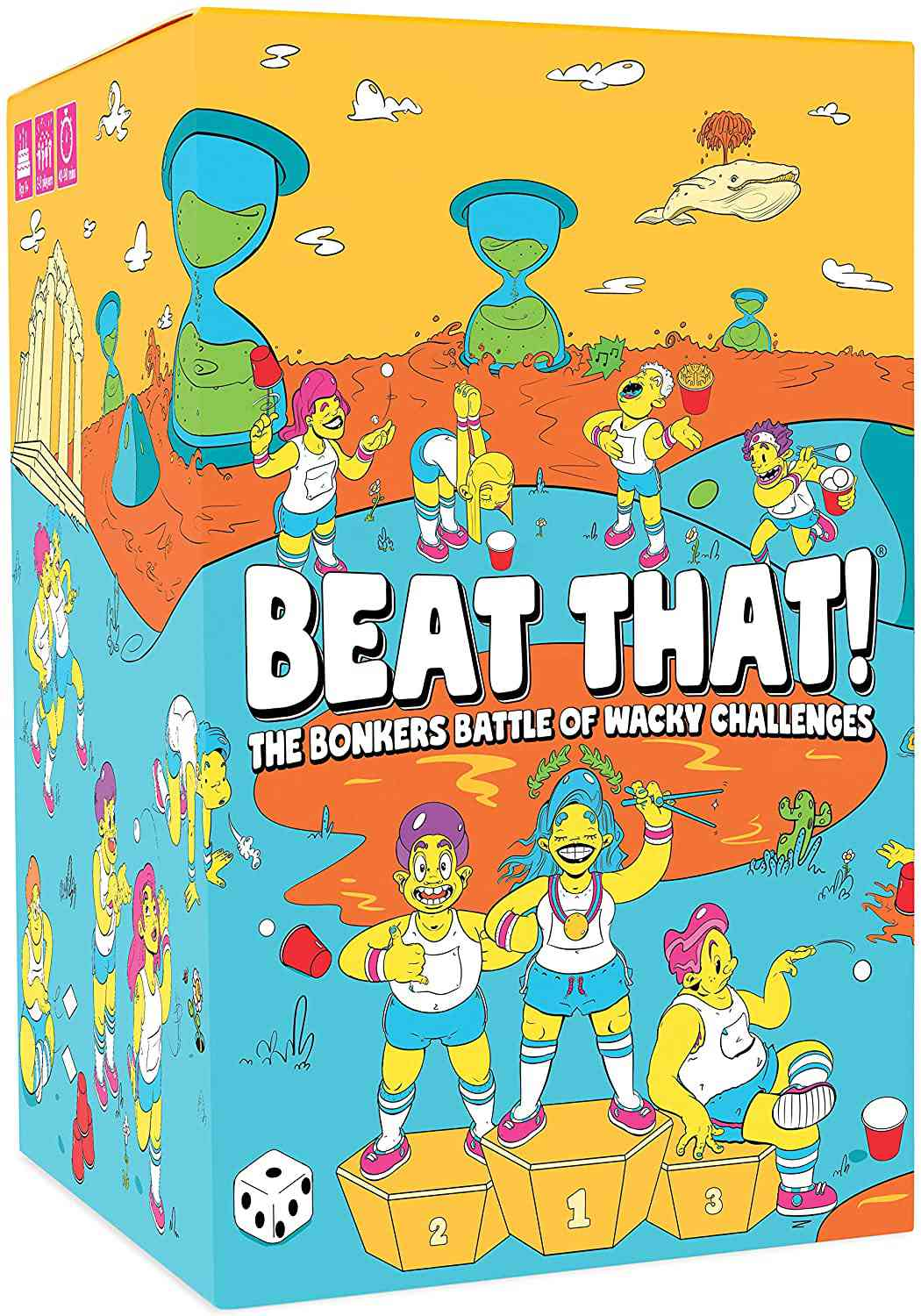Gutter Games Beat That! The Bonkers Battle of Wacky Challenges