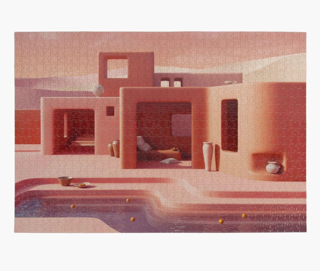 Adobe Poolside 1000 Piece Puzzle