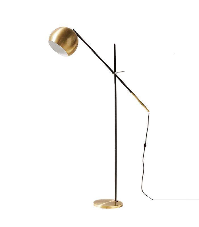 Culver Brass Floor Lamp - Bronze One Size at Urban Outfitters