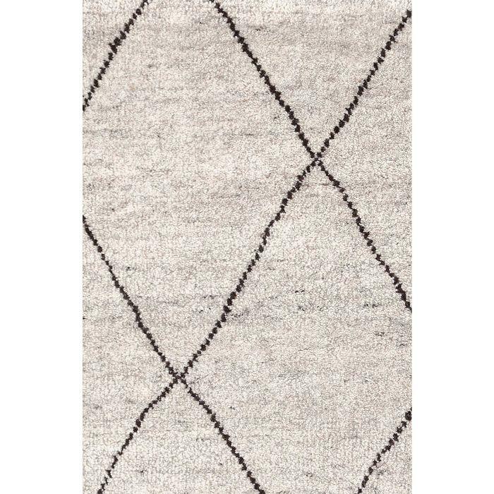 Numa Charcoal Handknotted Rug