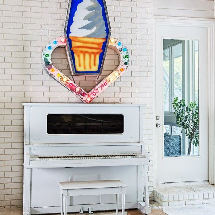 eclectic play room