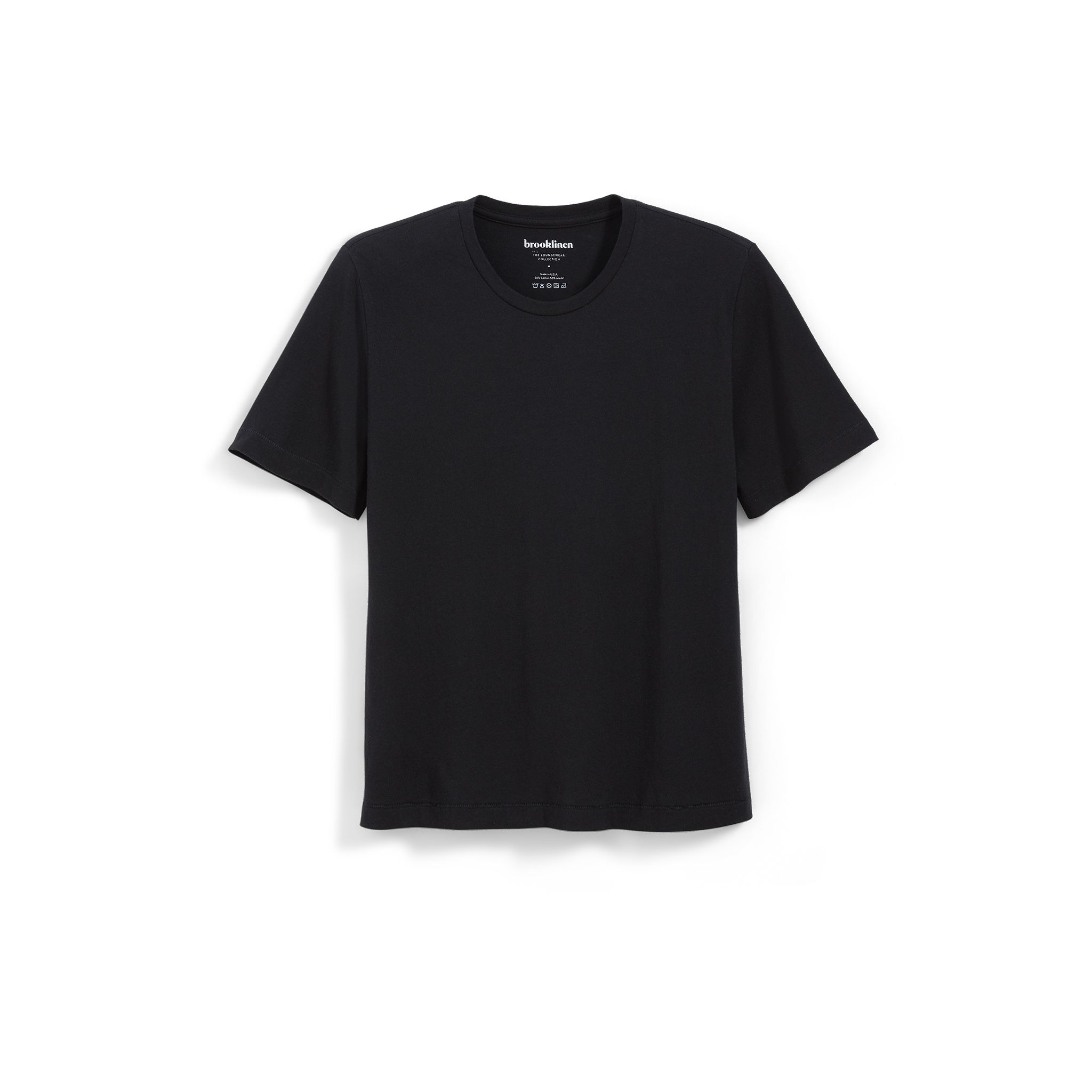 The Delancey Tee in Black