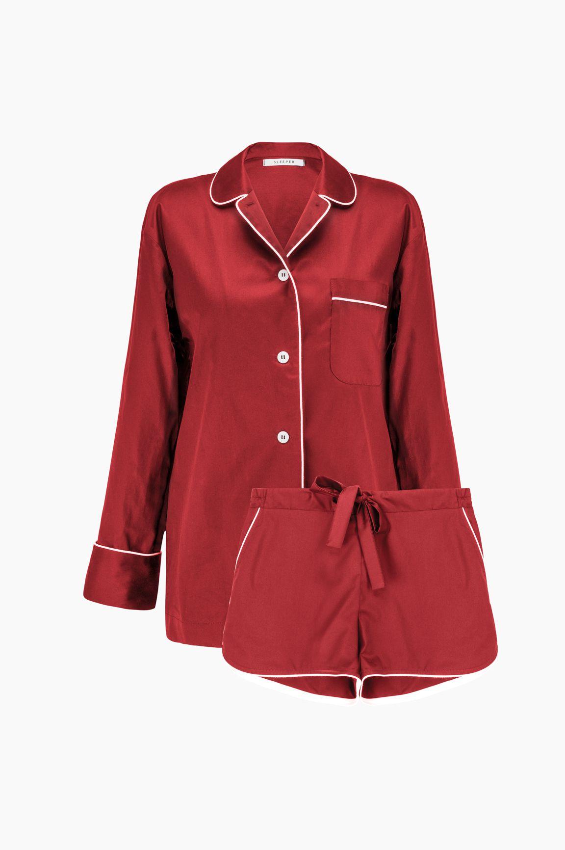 Sleeper Marx Red Pajama with Shorts
