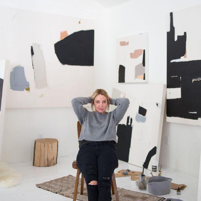 art studio design—Holly Addi