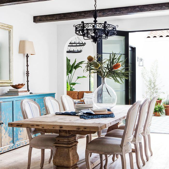 Spanish Style Dining Room