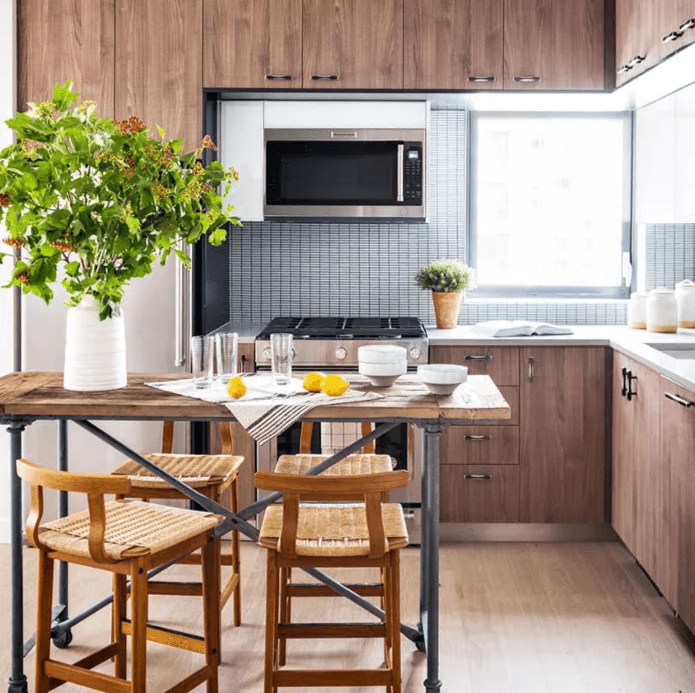 25 White And Wood Kitchen Ideas: 25 Beautiful Small Kitchen Ideas