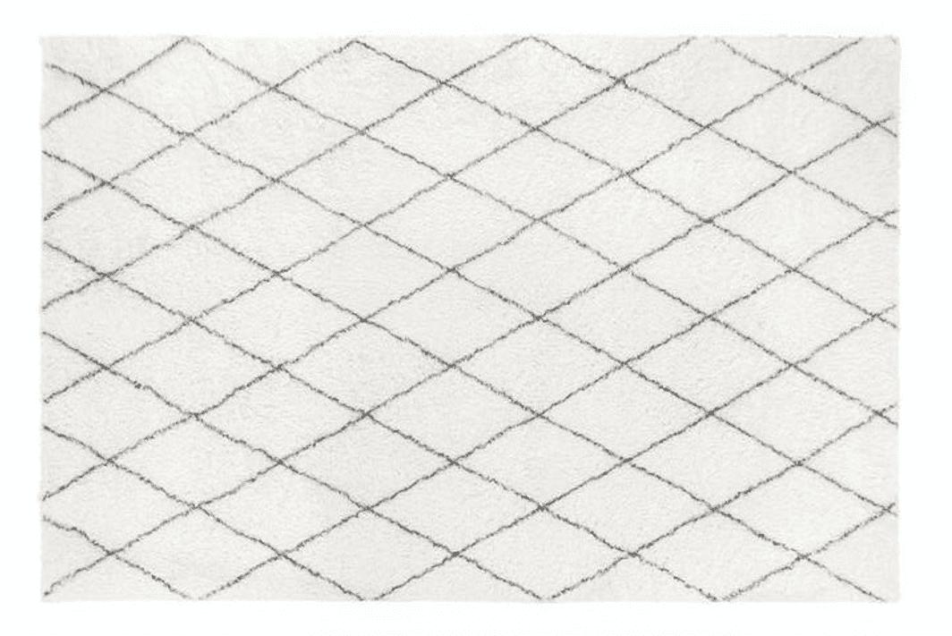 Plush Moroccan Diamond Rug