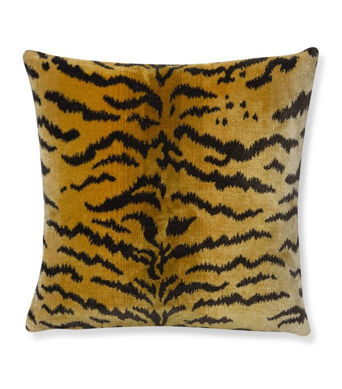 Scalamandre Tiger Pillow Cover