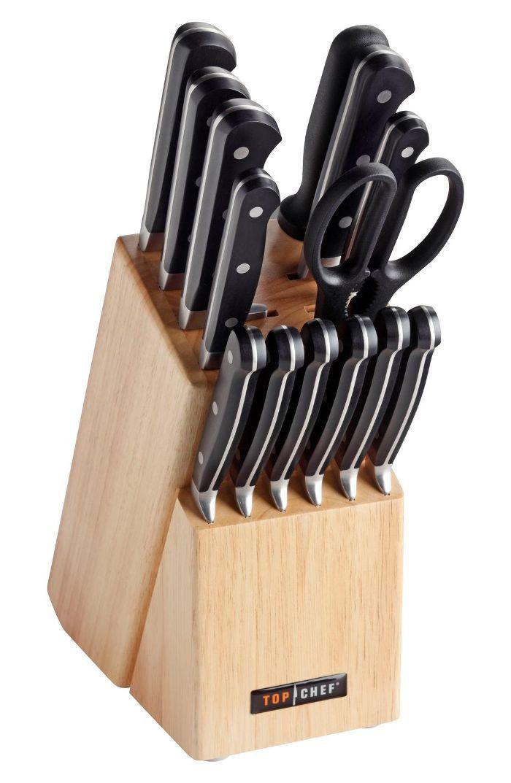 Top Chef Premier 15-Piece Knife Block Set