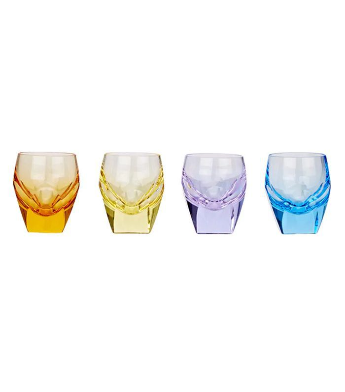 Bar Crystal Shot Glass Set