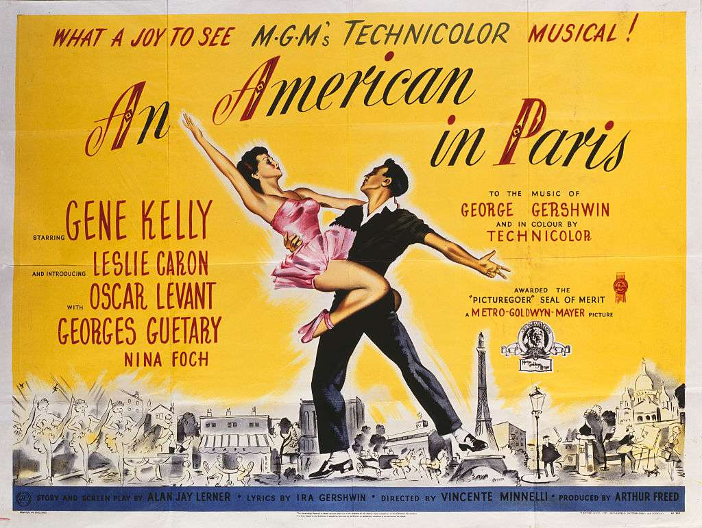 best black and white movies - an american in paris