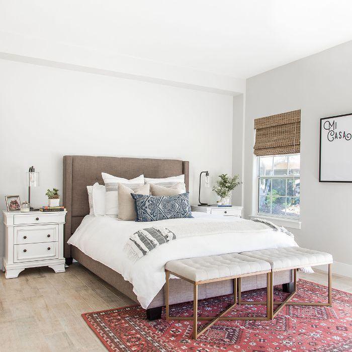 Weeknight Bite—guest bedroom design