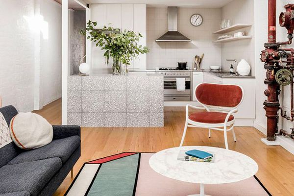 a living room by Patricia Urquiola
