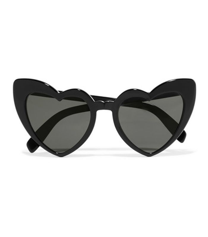 Loulou Heart-shaped Acetate Sunglasses