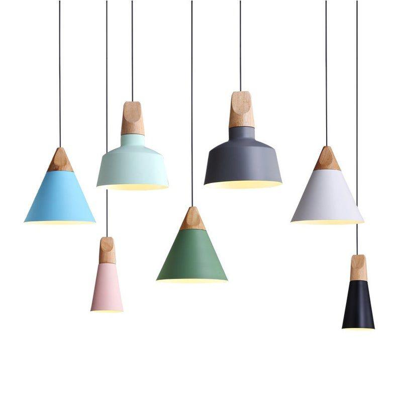 Nordic Wood Pendant Lights