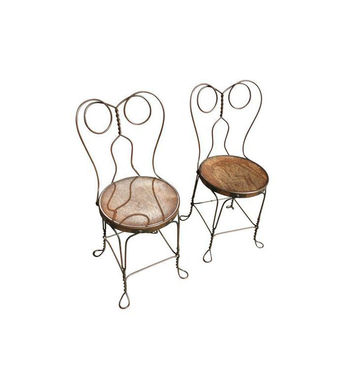 Chicago Wire Chair Company Ice Cream Parlor Chairs