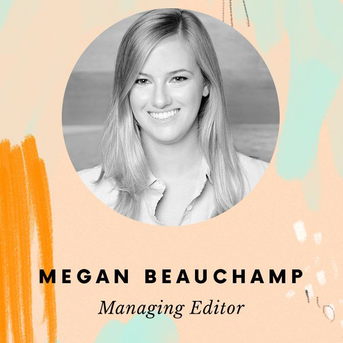 Editora gerente, Megan Beauchamp