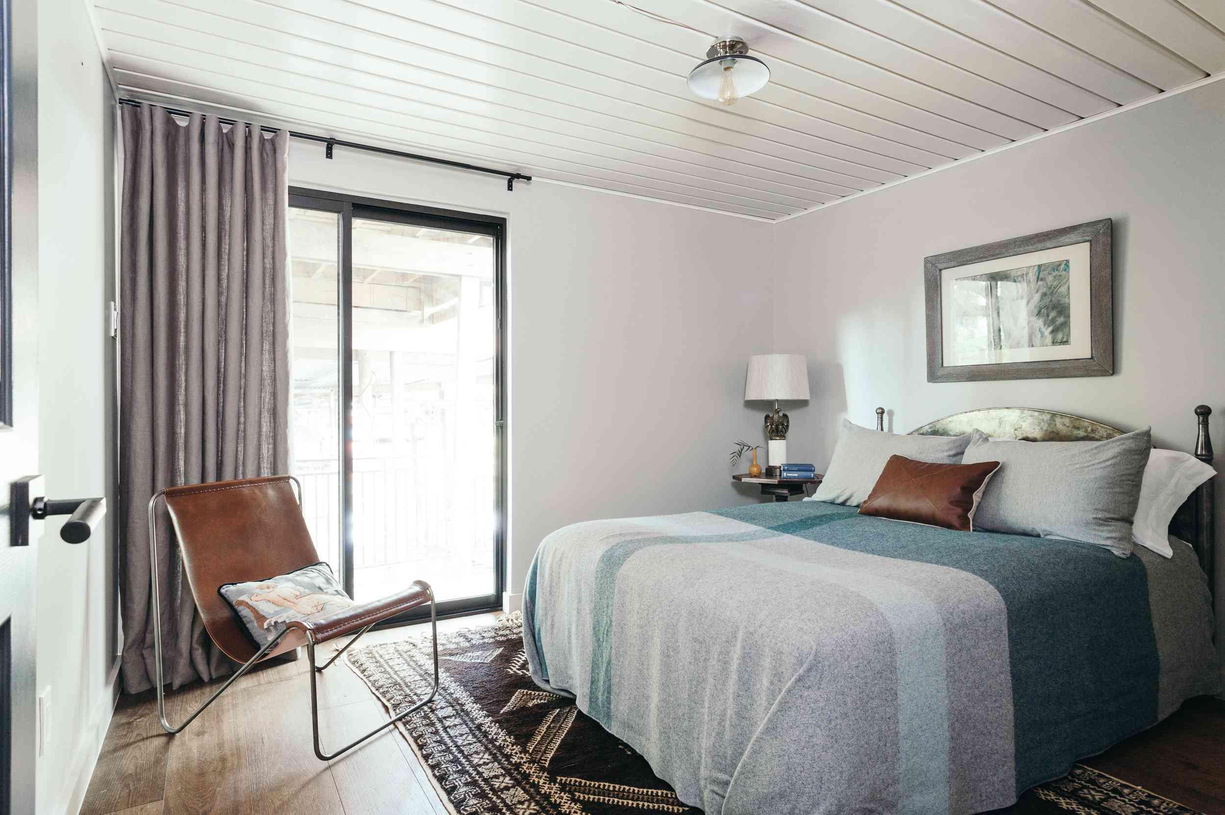 Lavender bedroom curtains
