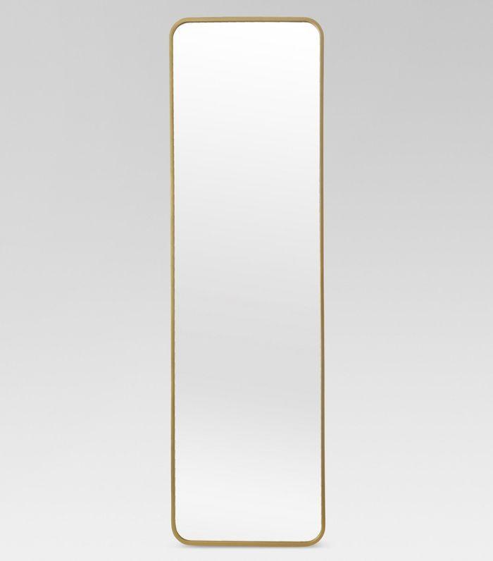 Over-the-door mirror
