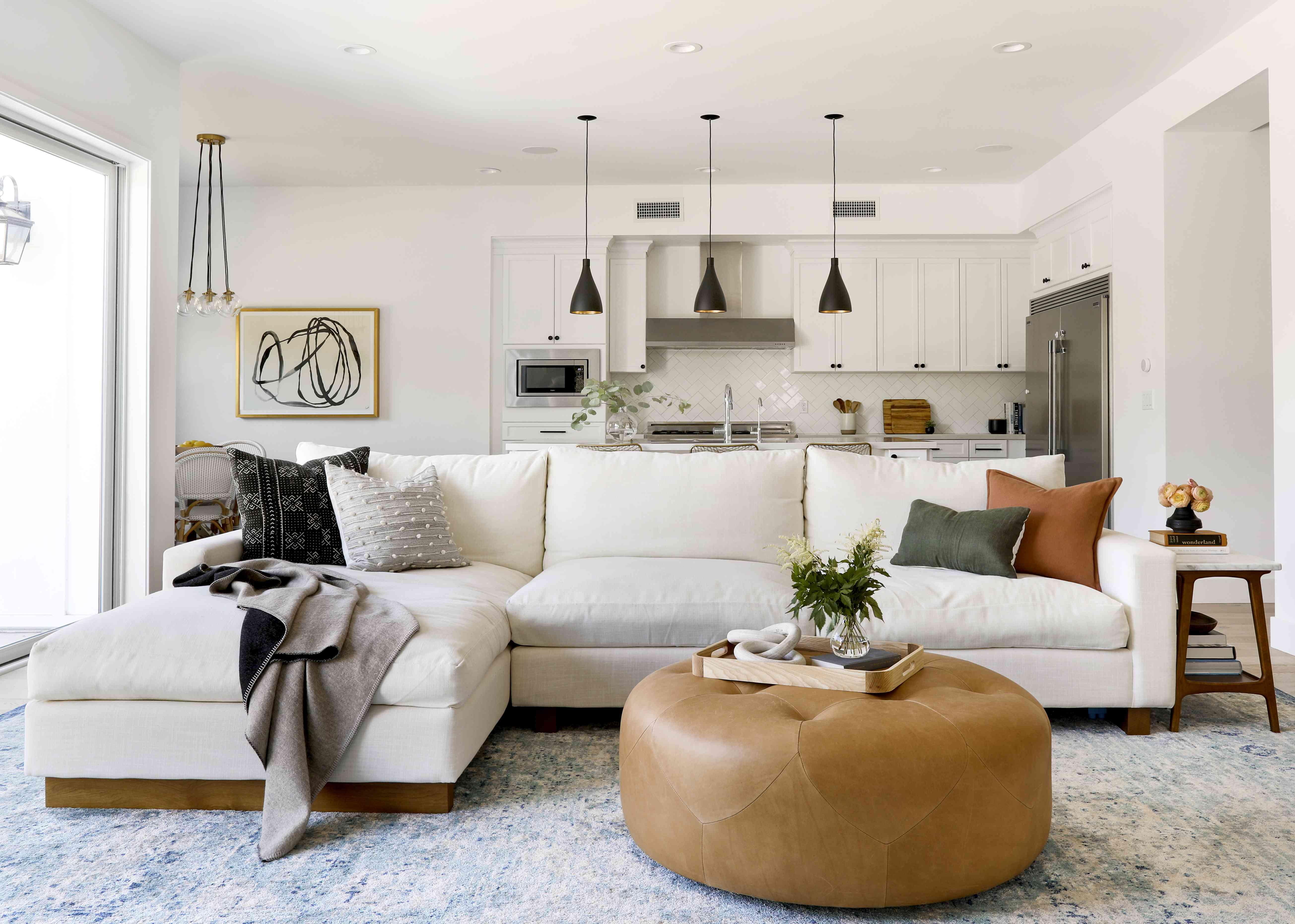 California-cool living room