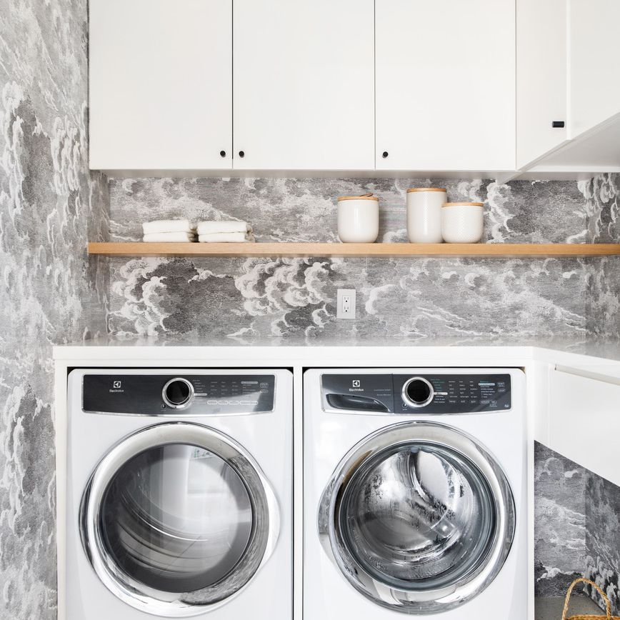 Find Out How To Make The Most Of A Small Laundry Room