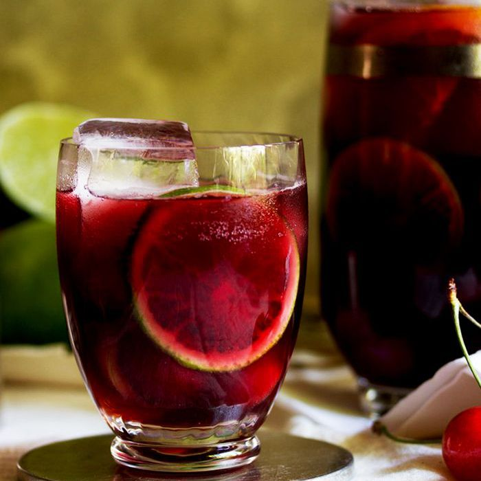 Ruby Red Cherry Sangria