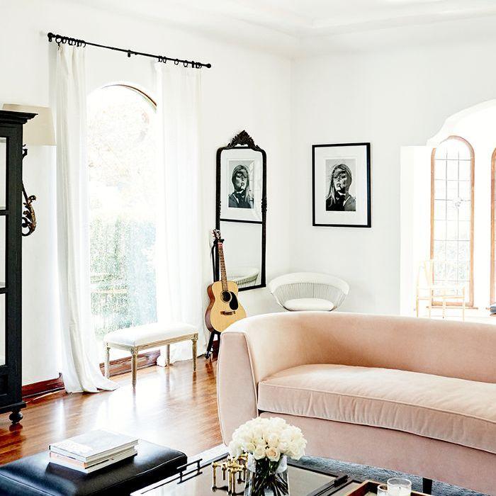 Anine Bing Home Tour - Sala de estar