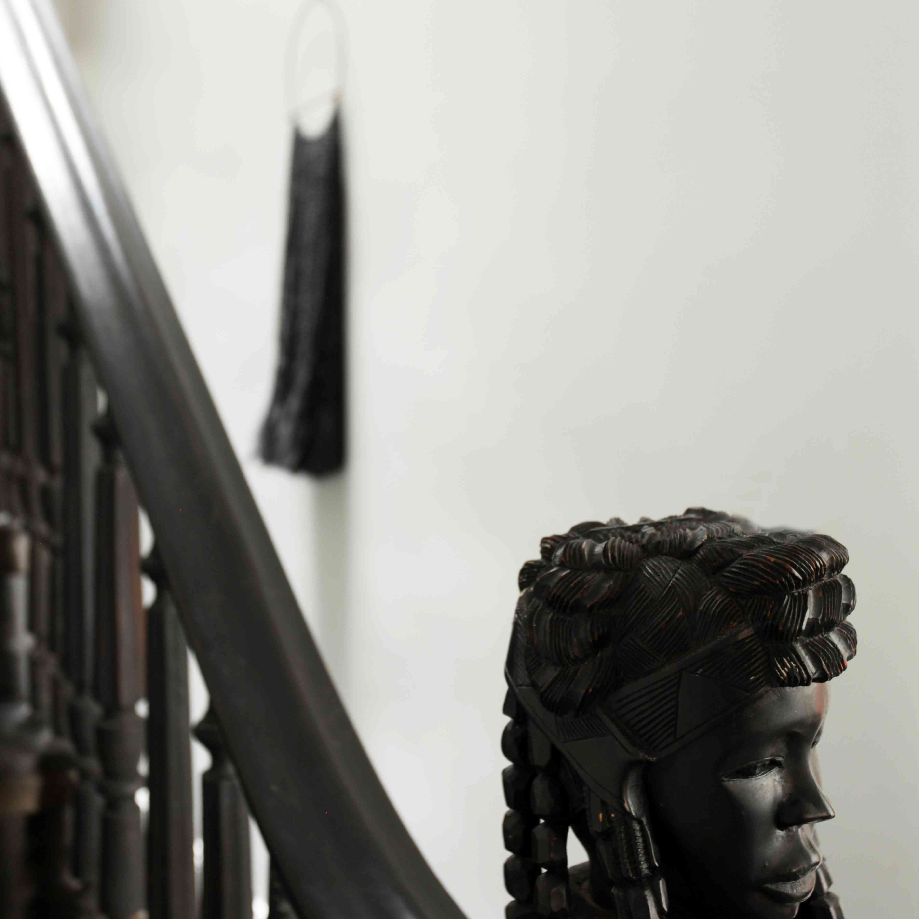 Staircase Newel african art