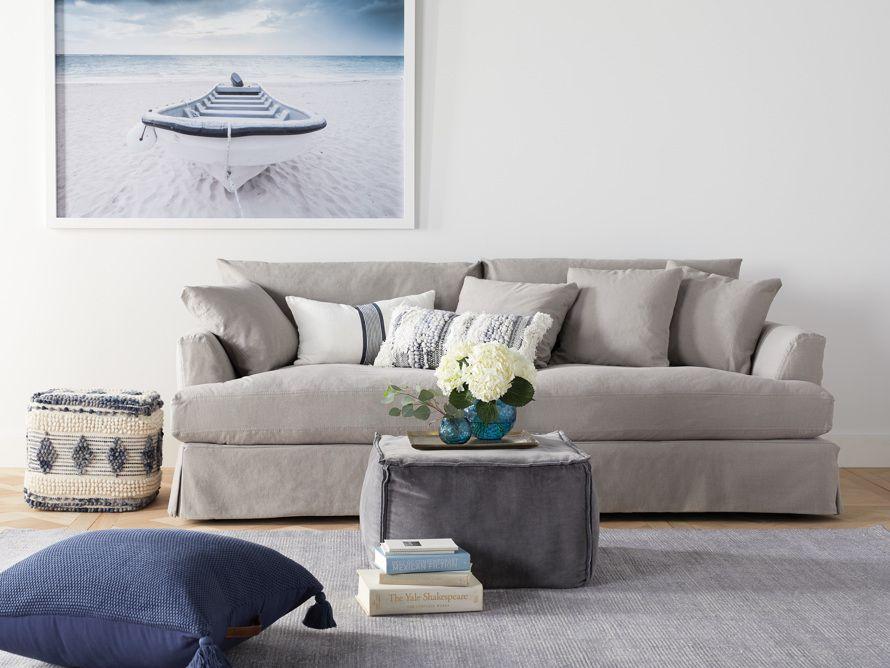 emory slipcovered sofa