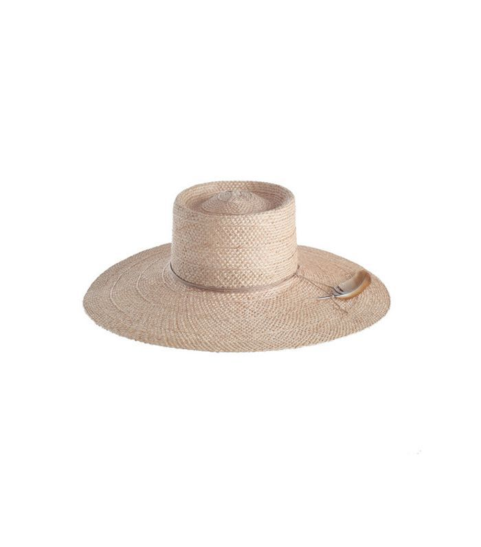 Cross Weave Sisal Straw Hat
