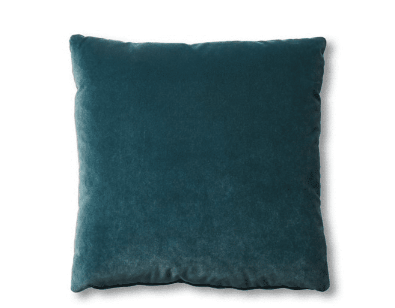 Hazel Pillow, Teal Velvet