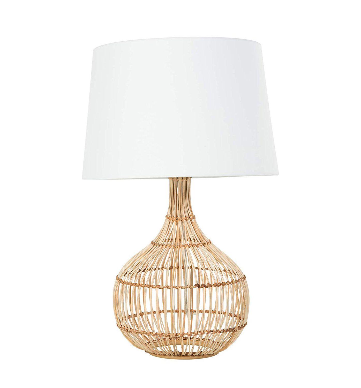 Rattan lamp