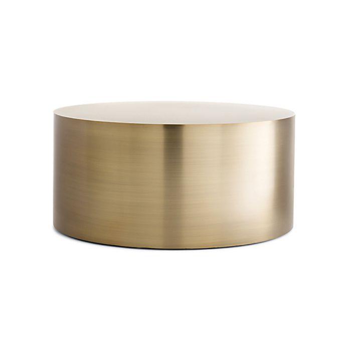 Mesa de centro de tambor