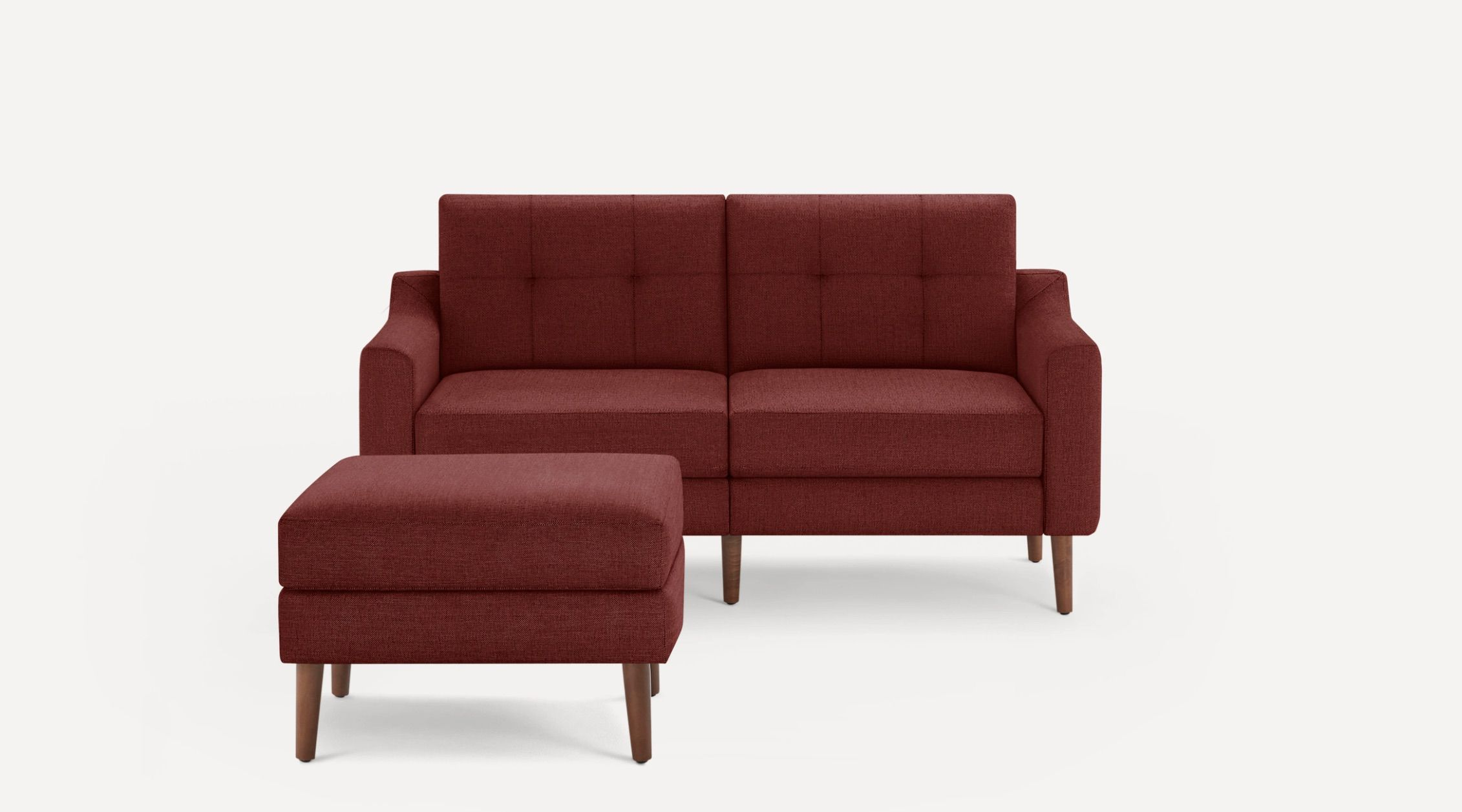 Slope Nomad Loveseat with Ottoman