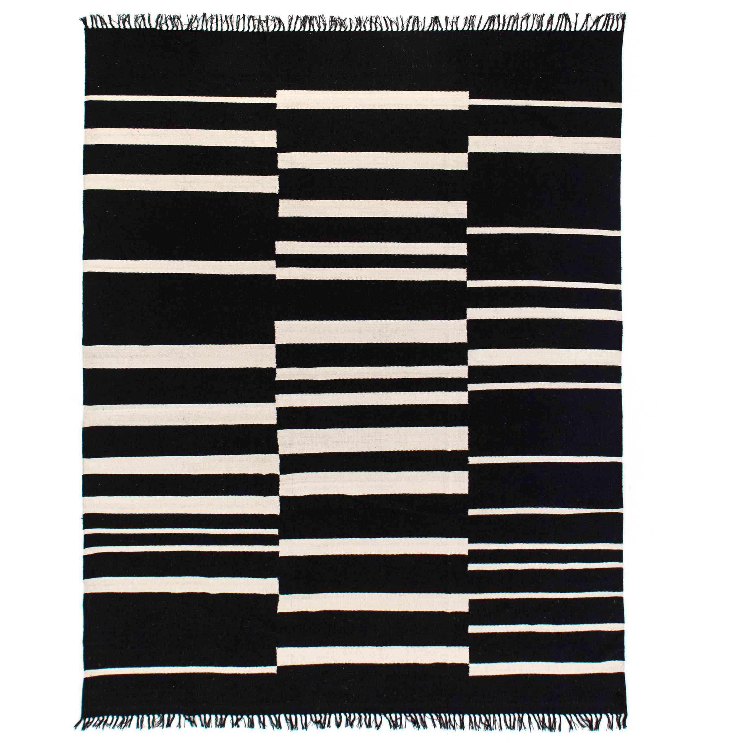 Offset Stripe Rug
