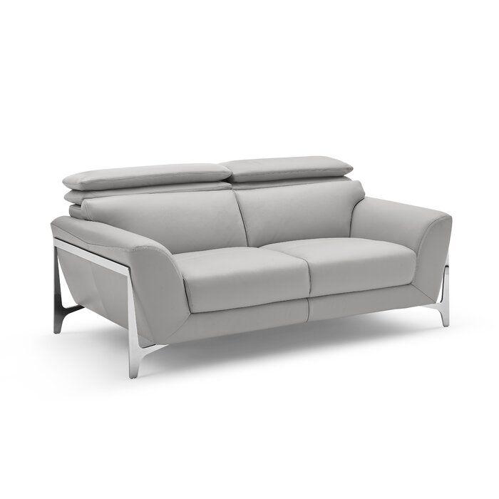 Sofá de cuero Binghampton