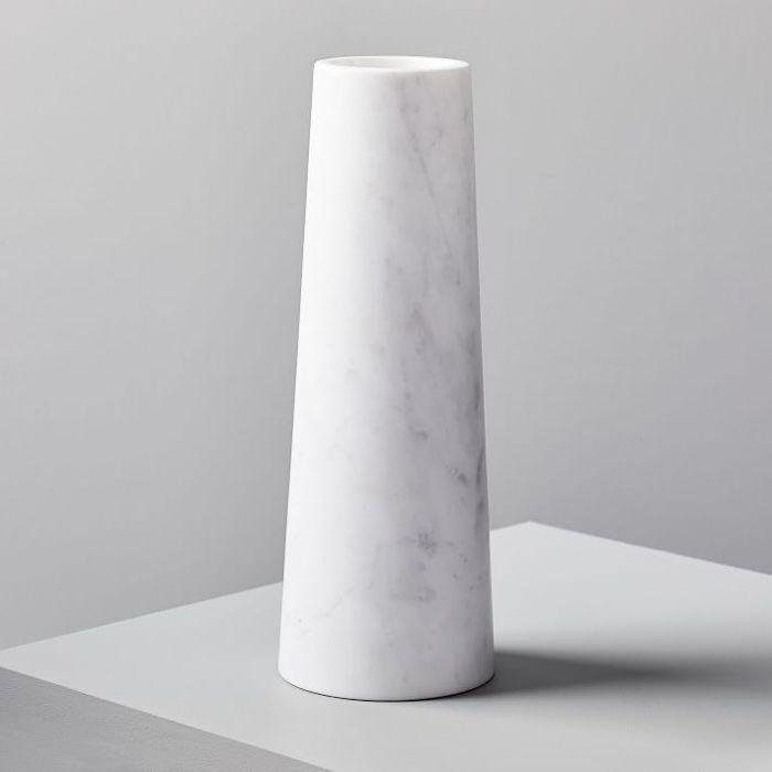 West Elm Marble Vase