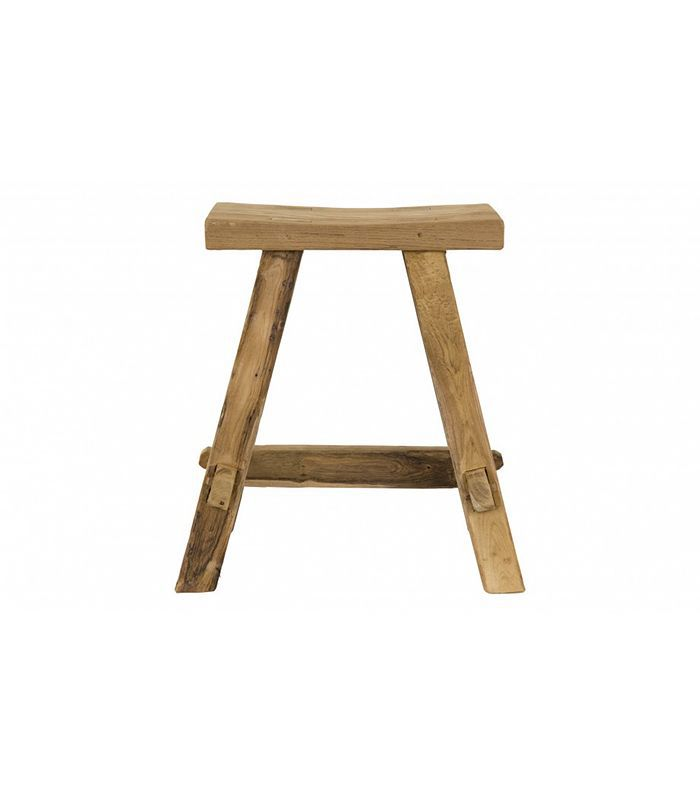 Jayson Home Reclaimed Teak Stool