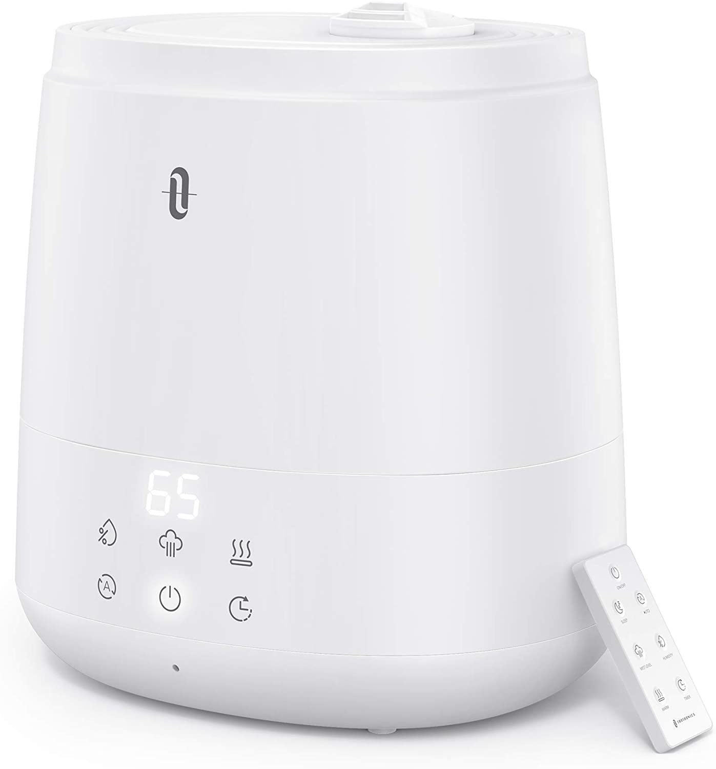 TaoTronics 6L Warm and Cool Mist Humidifier For Home