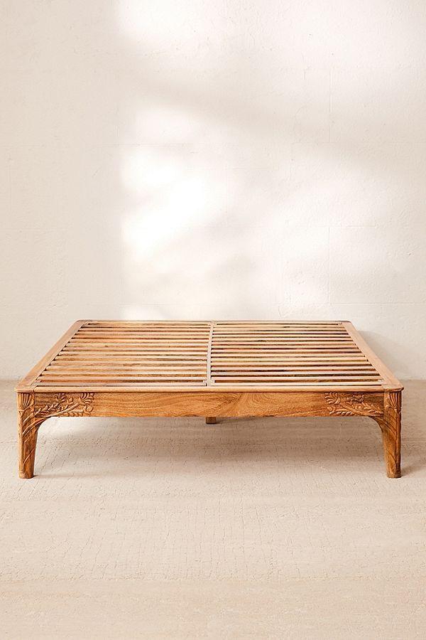 Andrea Carved Platform Bed