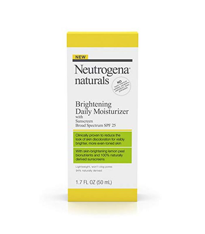 Best Moisturizers for Oily Skin Neutrogena Naturals Brightening Daily Moisturizer With Sunscreen Broad Spectrum SPF 25