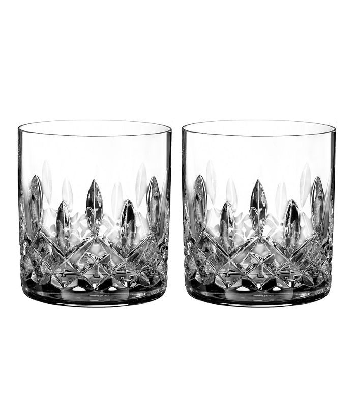 Lismore Connoisseur Whiskey Straight Sided Tumbler Glass, Set of 2