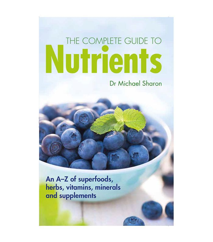 The Complete Guide To Nutrients book cover with green and blue writing.