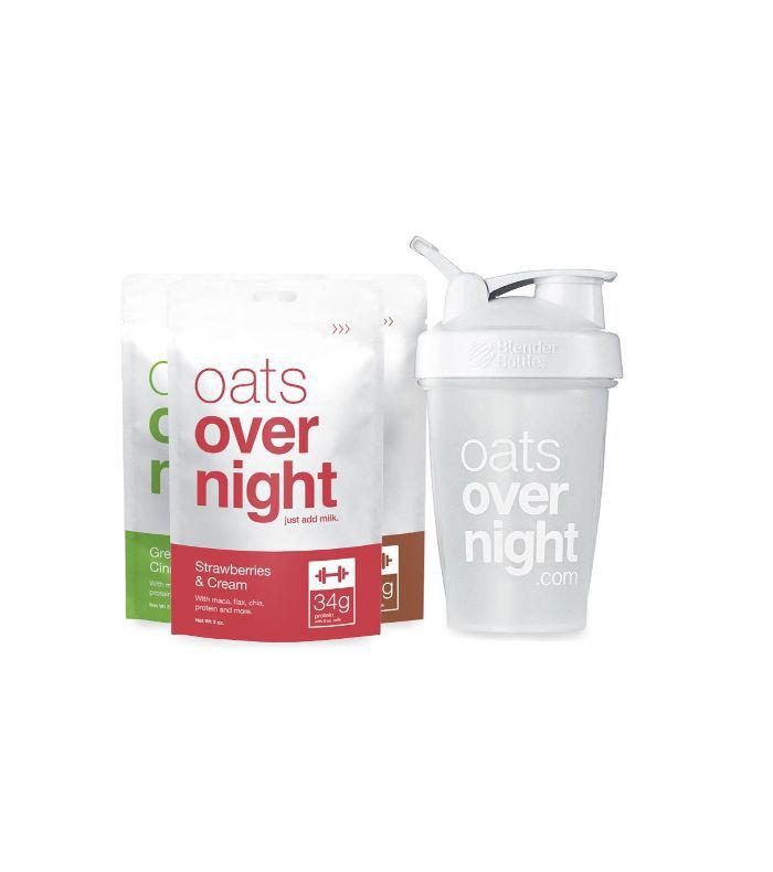Oats Overnight 12 Pack With Blender Bottle