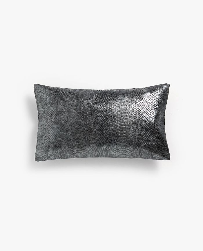 Zara Home Faux Leather Pillow Cover