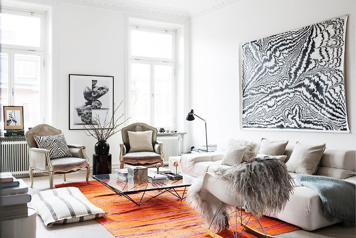 Stockholm Apartment — Living Room