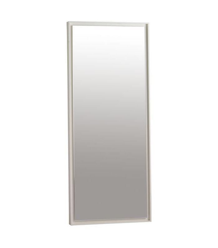 Espejo de piso de madera flotante