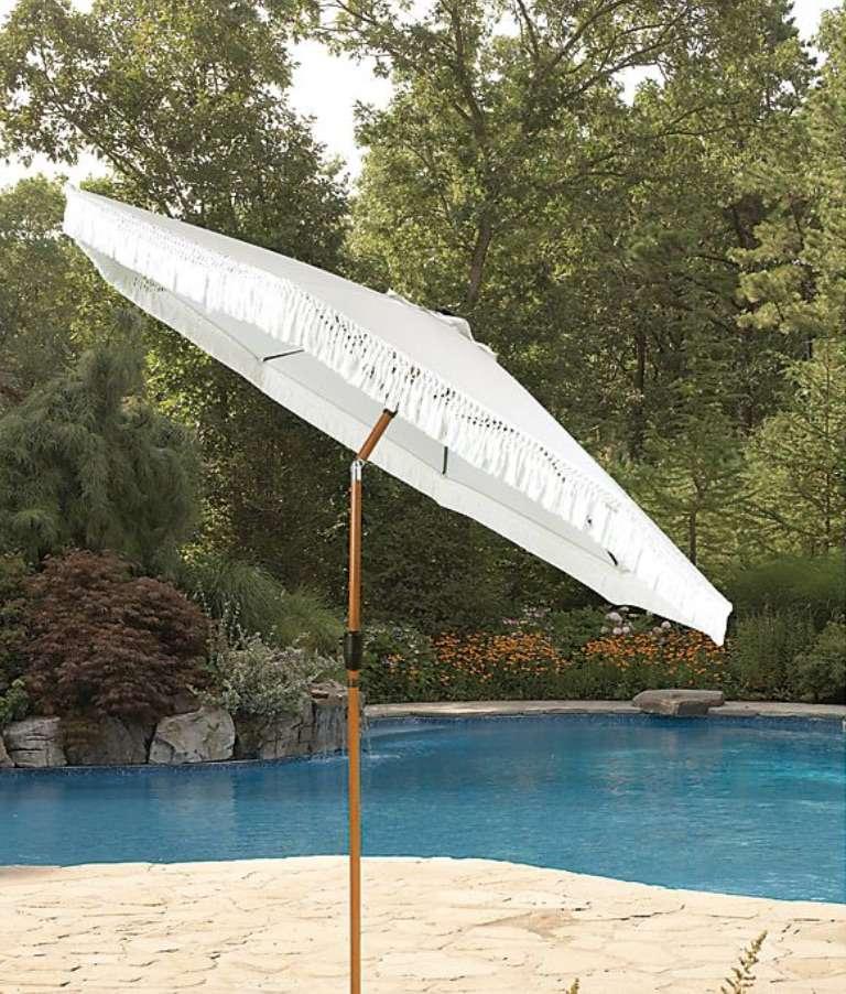 Bee & Willow™ Home Fringe Market Umbrella
