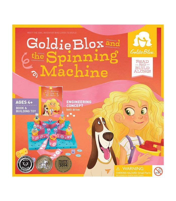 La máquina de hilarGoldieBlox